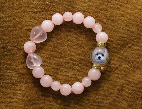可愛い犬写真ブレスレット